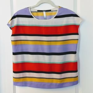 Women's Kensie Striped Blouse Size Small